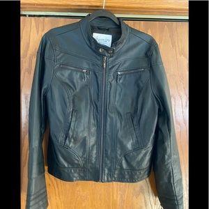 American Rag Women's Faux Leather Jacket Size XL